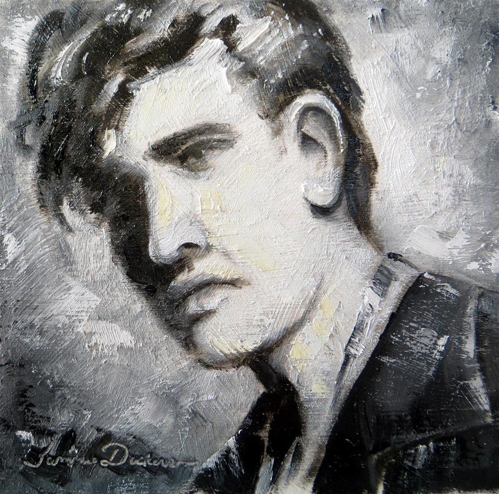"""Young Elvis"" original fine art by Tammie Dickerson"