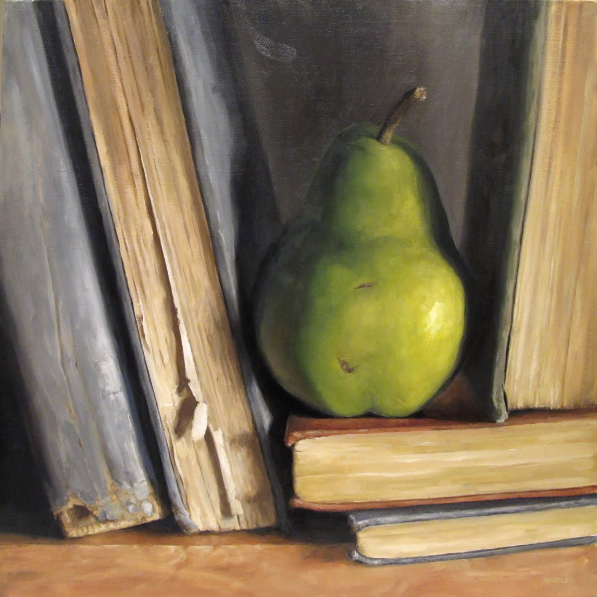 """One of a Pear"" original fine art by Michael Naples"