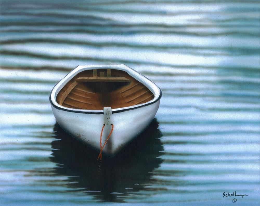 """Quiet Reflections"" original fine art by Fred Schollmeyer"