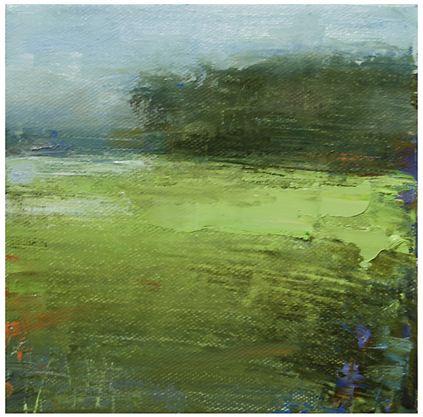 """Marshland with a touch of blue"" original fine art by Steven Goodman"