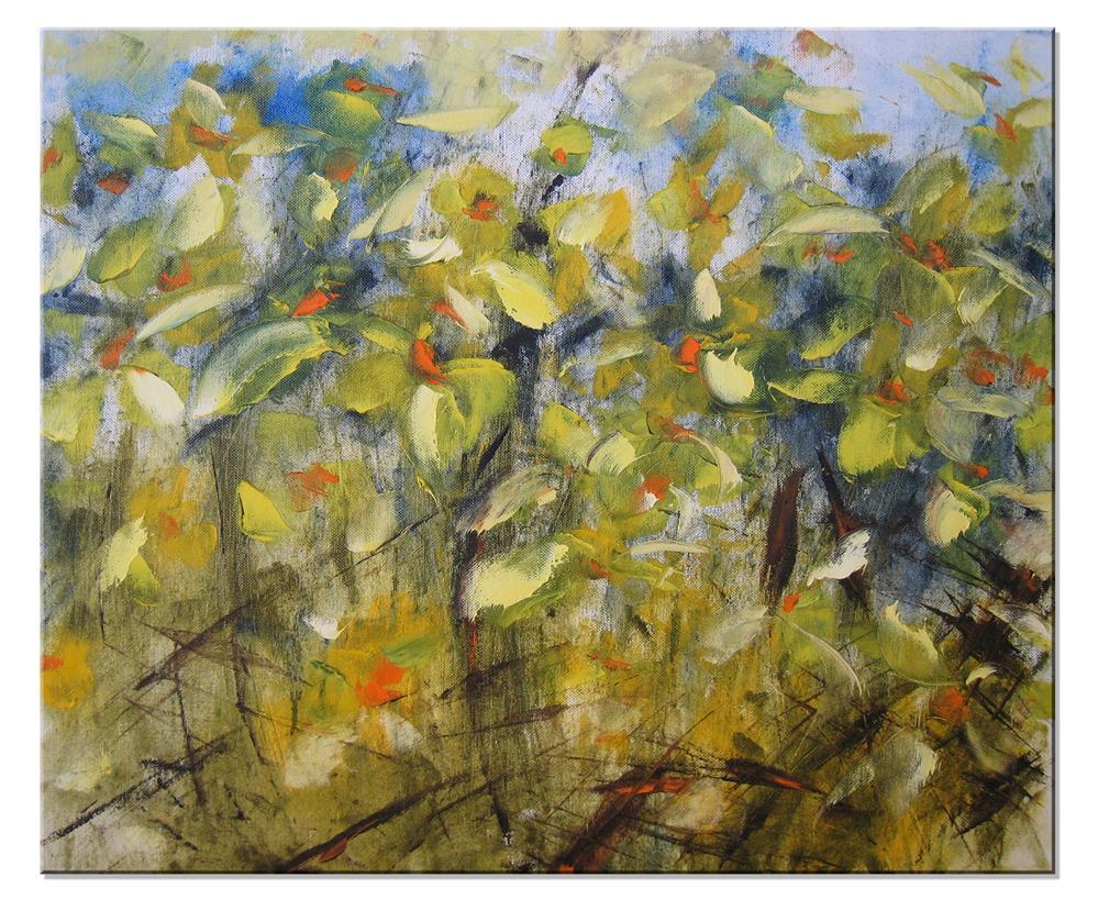 """Daffodils"" original fine art by Elena Lunetskaya"