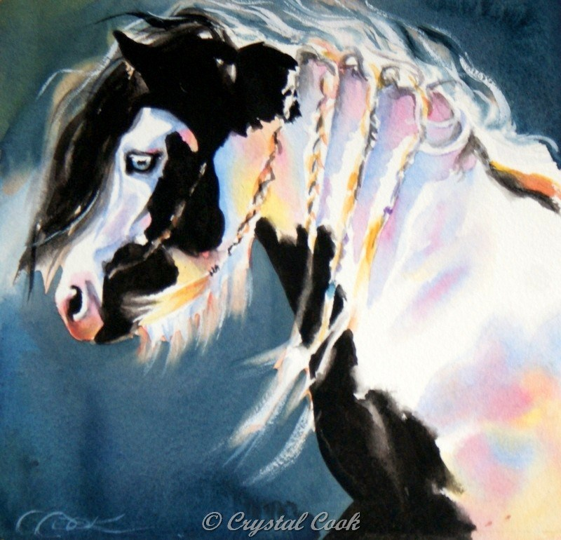 """Twilight"" original fine art by Crystal Cook"