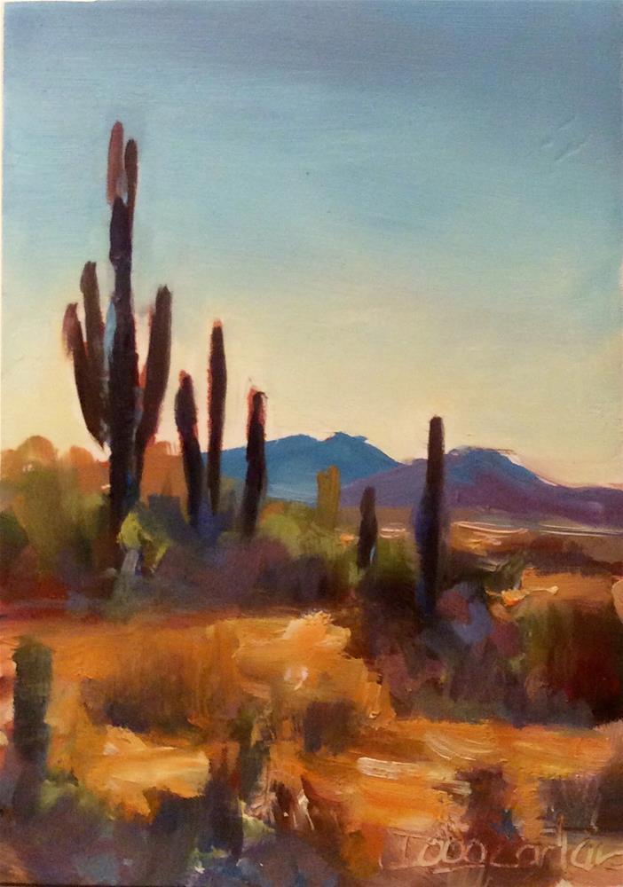 """UPWARD"" original fine art by Doug Carter"