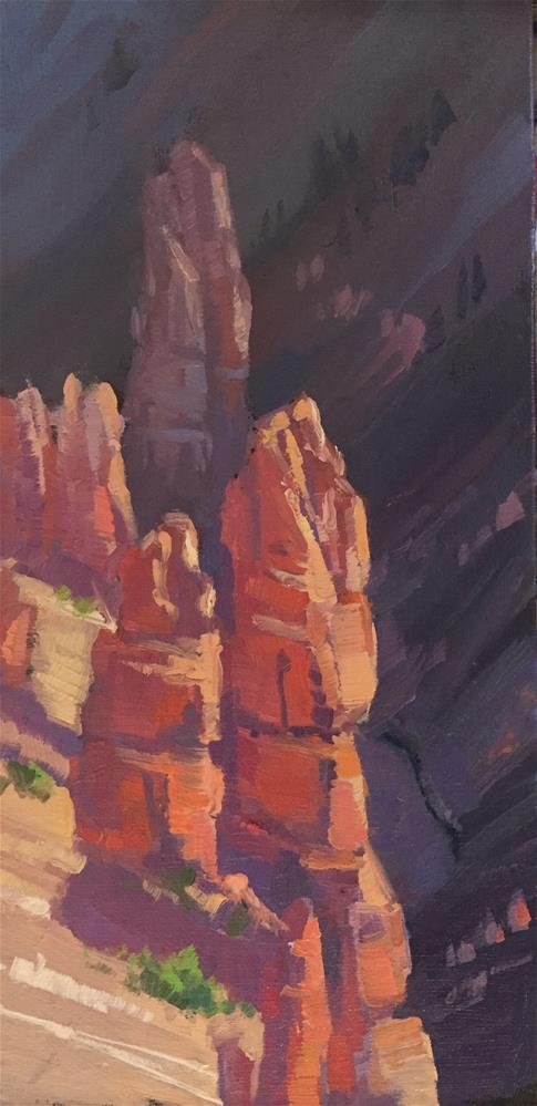 """Spires - Cedar Breaks"" original fine art by Mary Jabens"