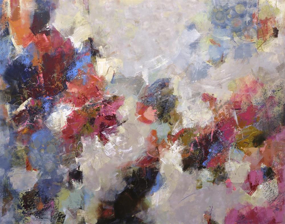 """Made For You"" original fine art by Elizabeth Chapman"