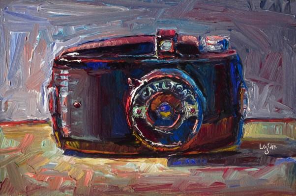 """Carlton Camera"" original fine art by Raymond Logan"