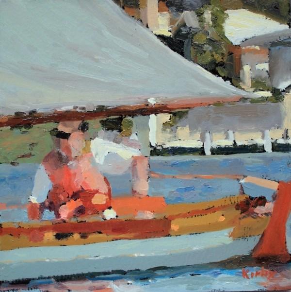 """Cruising Offats Cove"" original fine art by Randall Cogburn"