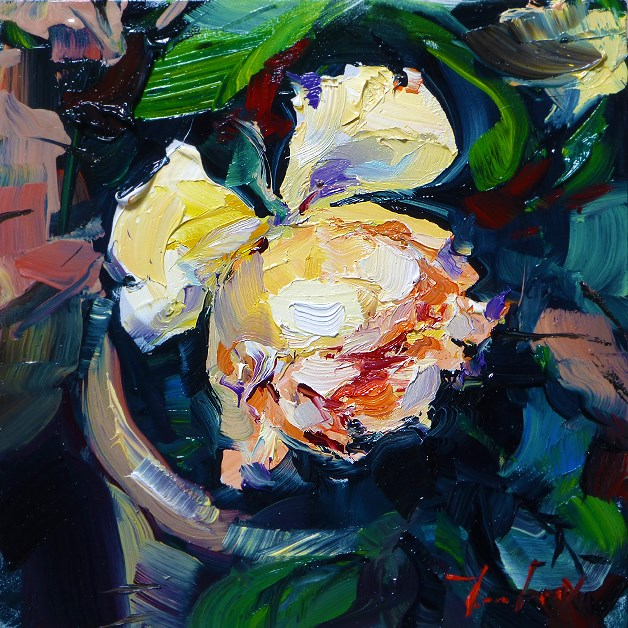 """Rose"" original fine art by Jurij Frey"