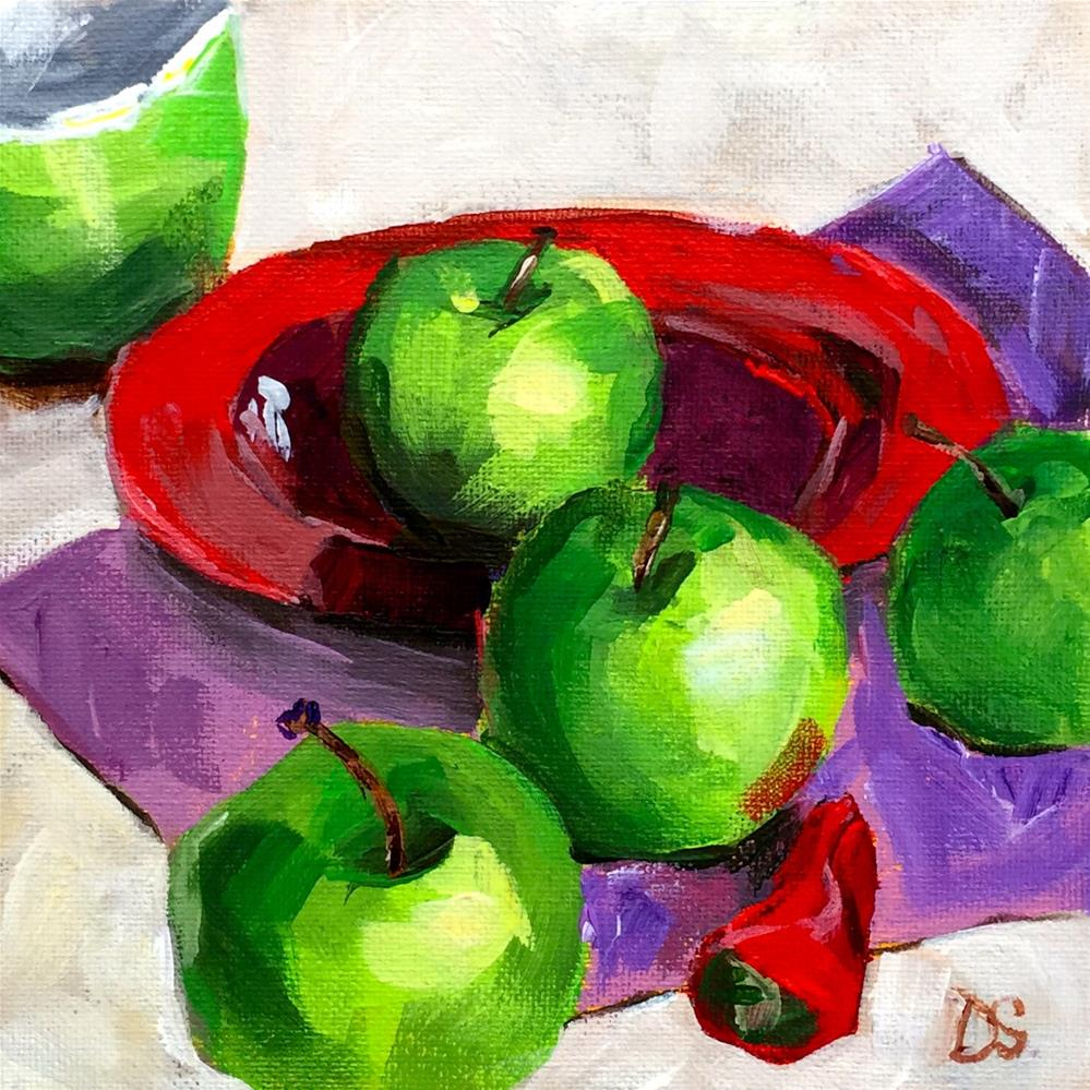 """One Red Pepper"" original fine art by Diana Stewart"