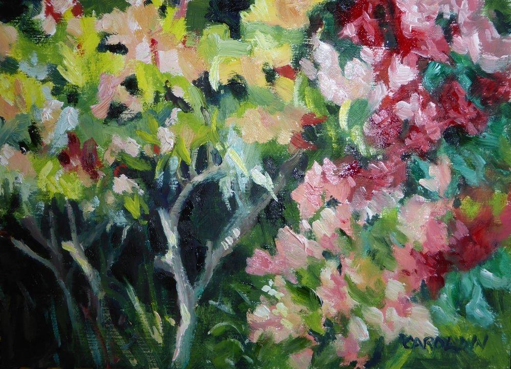 """Ann's Secret"" original fine art by Carolynn Doan"