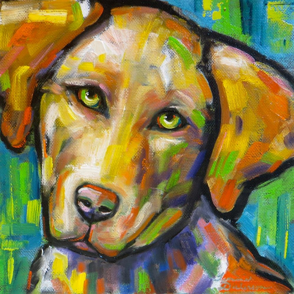 """Bold Beau"" original fine art by Tammie Dickerson"