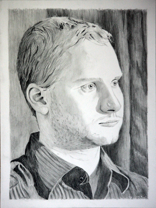 """Pencil Portraits - Part 3 - Matthew"" original fine art by Kirk Witmer"