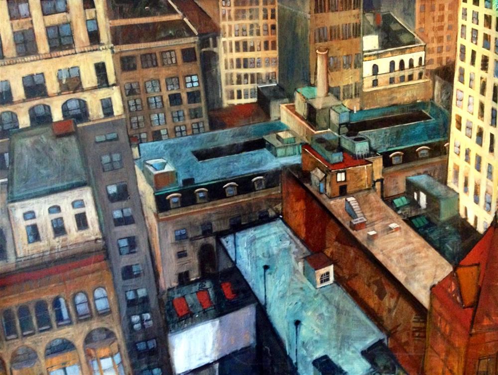 """""""Vertigo"""" original fine art by Teresa Haag"""