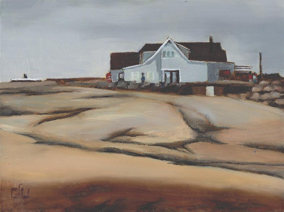 """Peggy's Cove Restaurant"" original fine art by Gary Westlake"