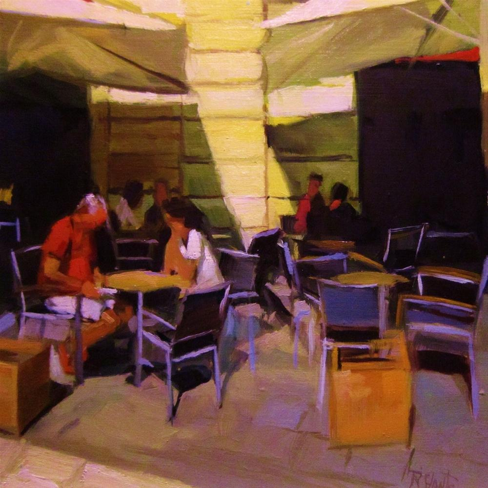 """Midday break"" original fine art by Víctor Tristante"