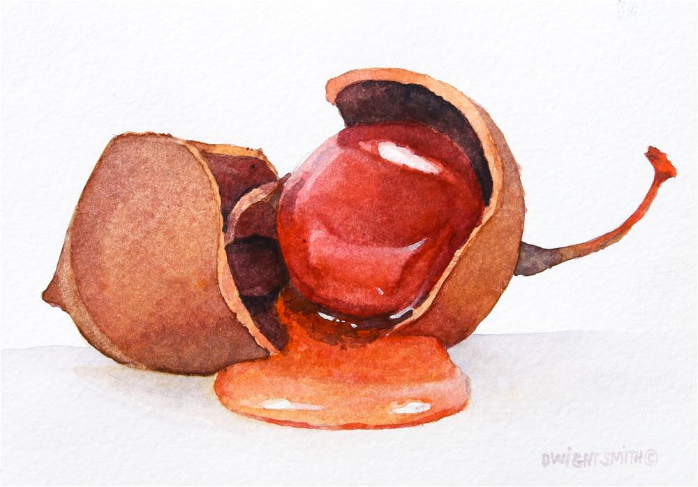 """"""" EAT YOUR FRUIT """" original fine art by Dwight Smith"""