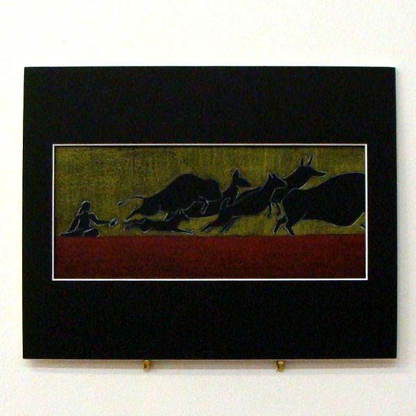 """Qi-yo Ke-pe Study I"" original fine art by Bonnie Fillenwarth"