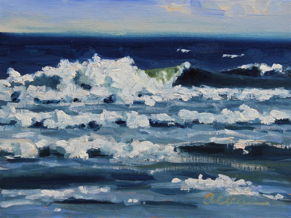 """Surfside"" original fine art by Colleen Parker"