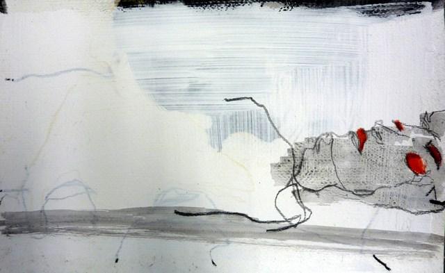 """liegende Figur / lying figure"" original fine art by Mila Plaickner"