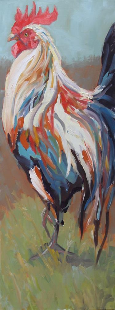 """standing tall"" original fine art by Carol Carmichael"