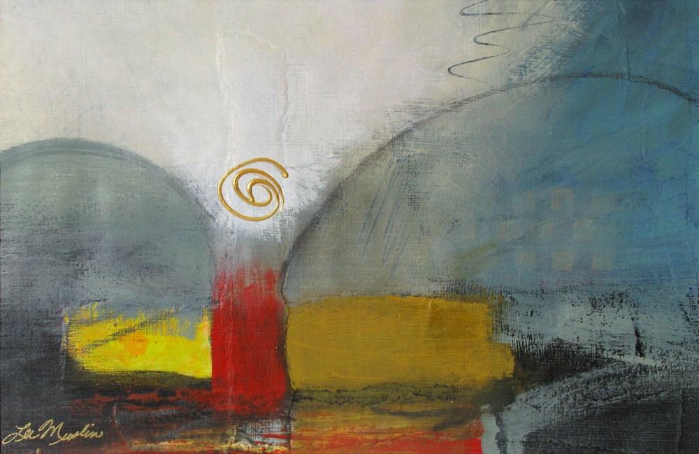 """Sentinel"" original fine art by Lee Muslin"