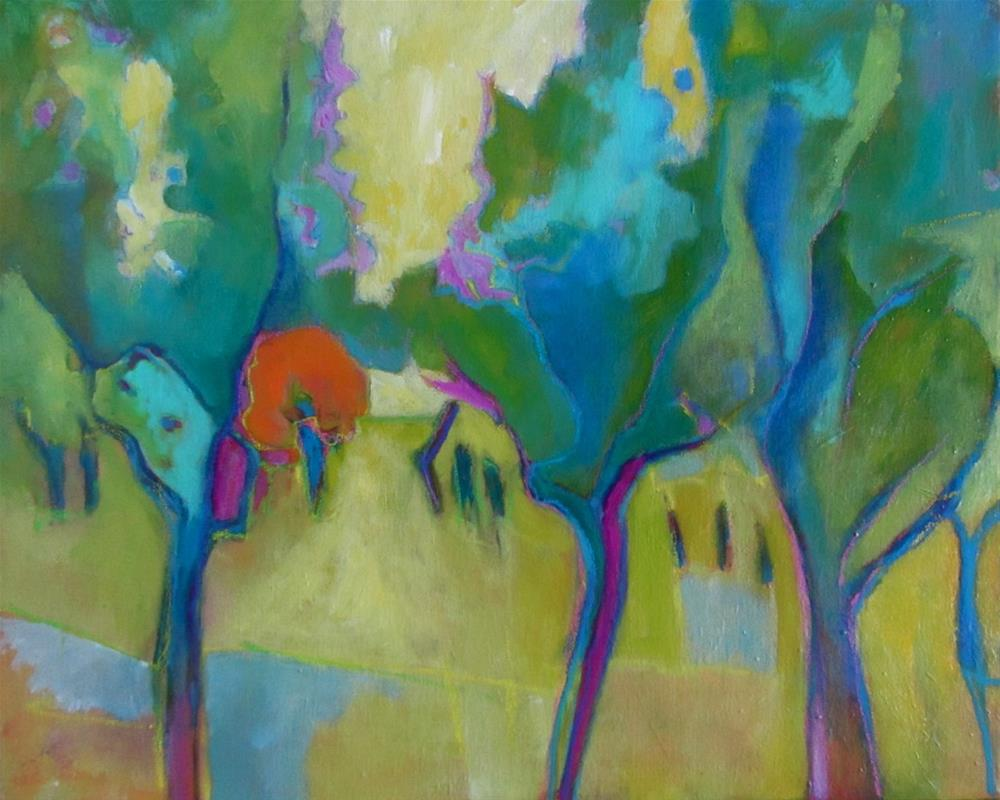 """Olive Grove"" original fine art by Patricia MacDonald"