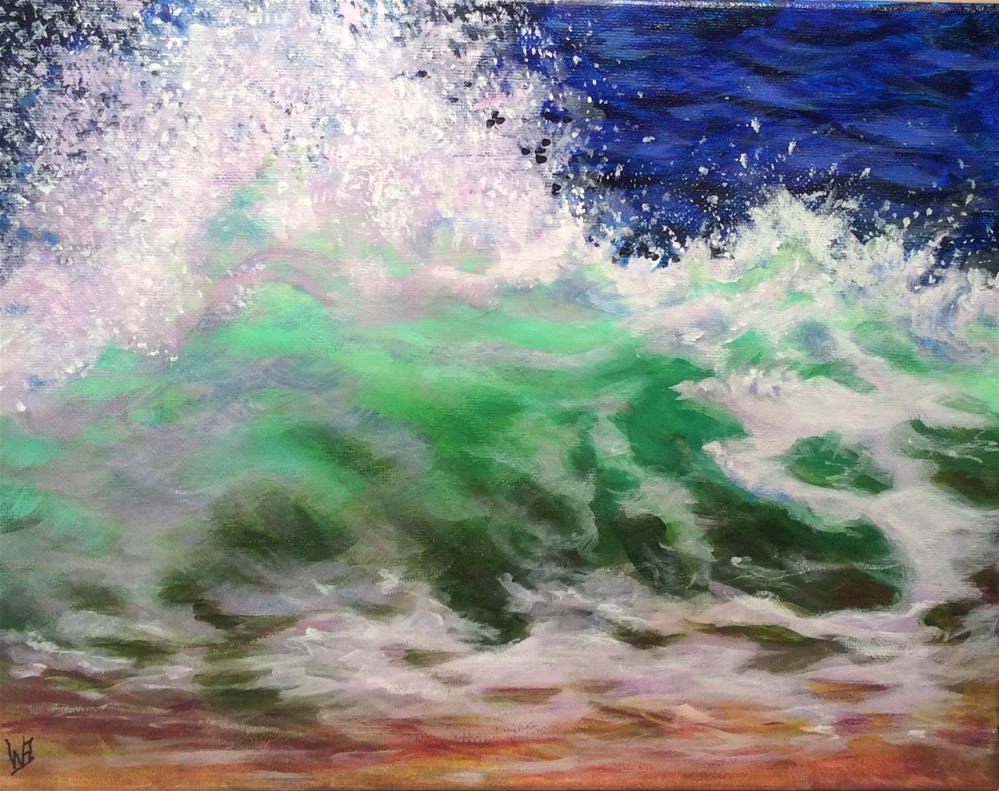 """Rhapsody"" original fine art by wendy black"