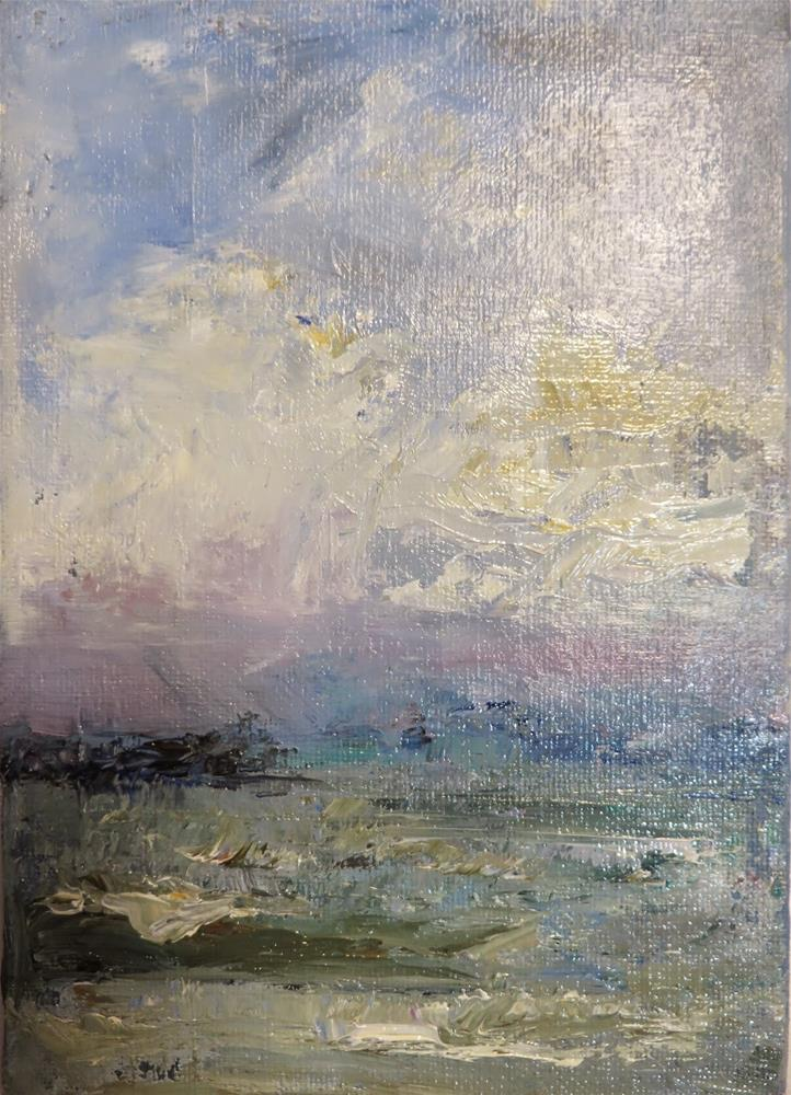 """580 Atlantic Ocean at Plymouth"" original fine art by Diane Campion"