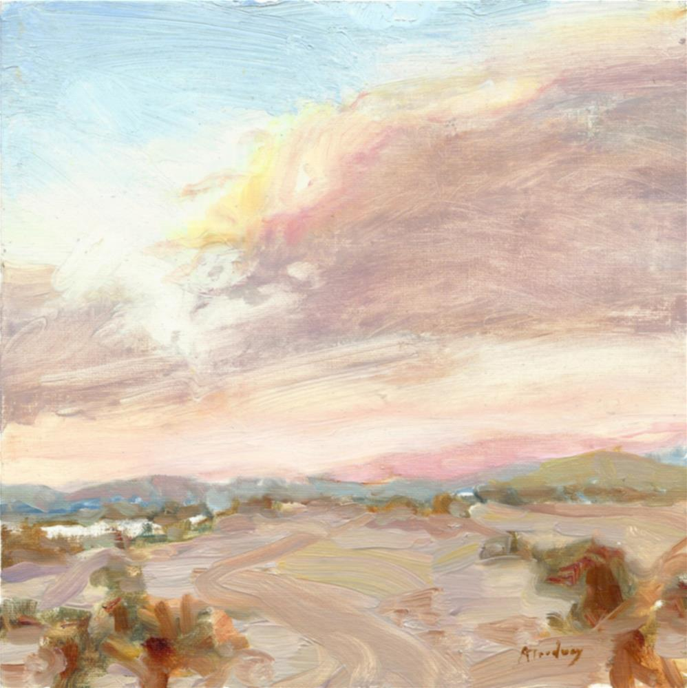 """29 Palms Sunset"" original fine art by alicia tredway"