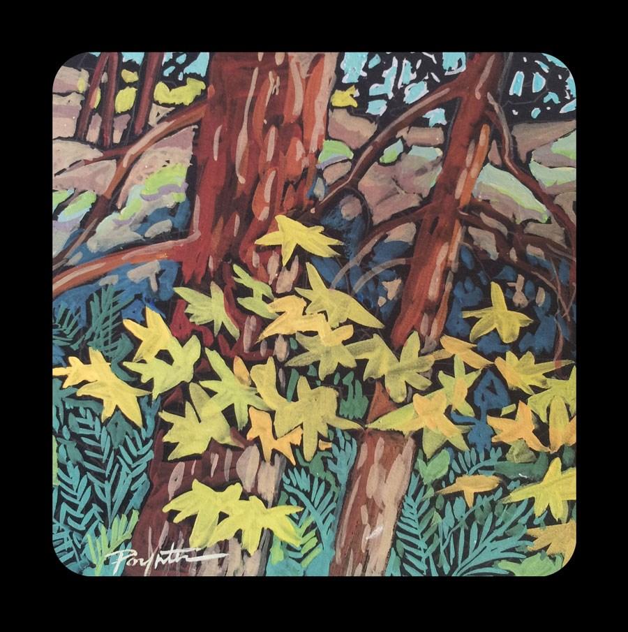"""""""3.10 Maple Moss"""" original fine art by Jan Poynter"""