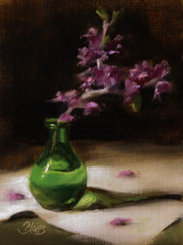 """Redbud Blooms"" original fine art by Pamela Blaies"