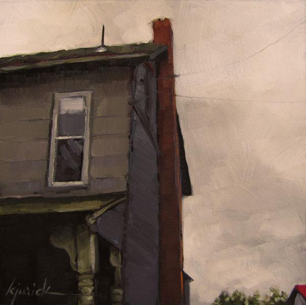 """Tinted Window"" original fine art by Karin Jurick"