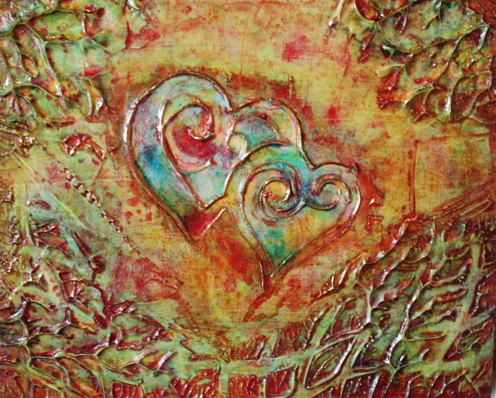 """The Two of Us"" original fine art by Christiane Kingsley"