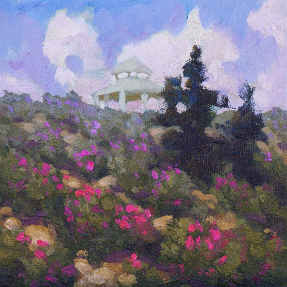 """Desert Rose"" original fine art by Mary Mulvihill"