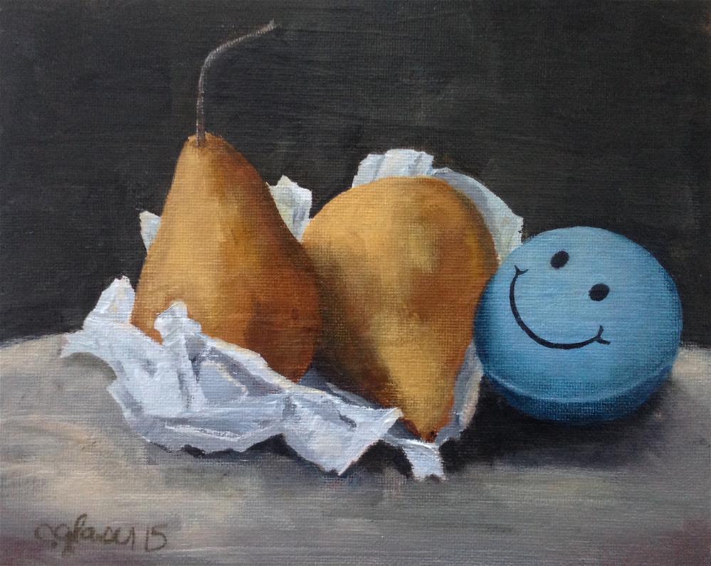 """Stress-Free Fruit"" original fine art by christina glaser"