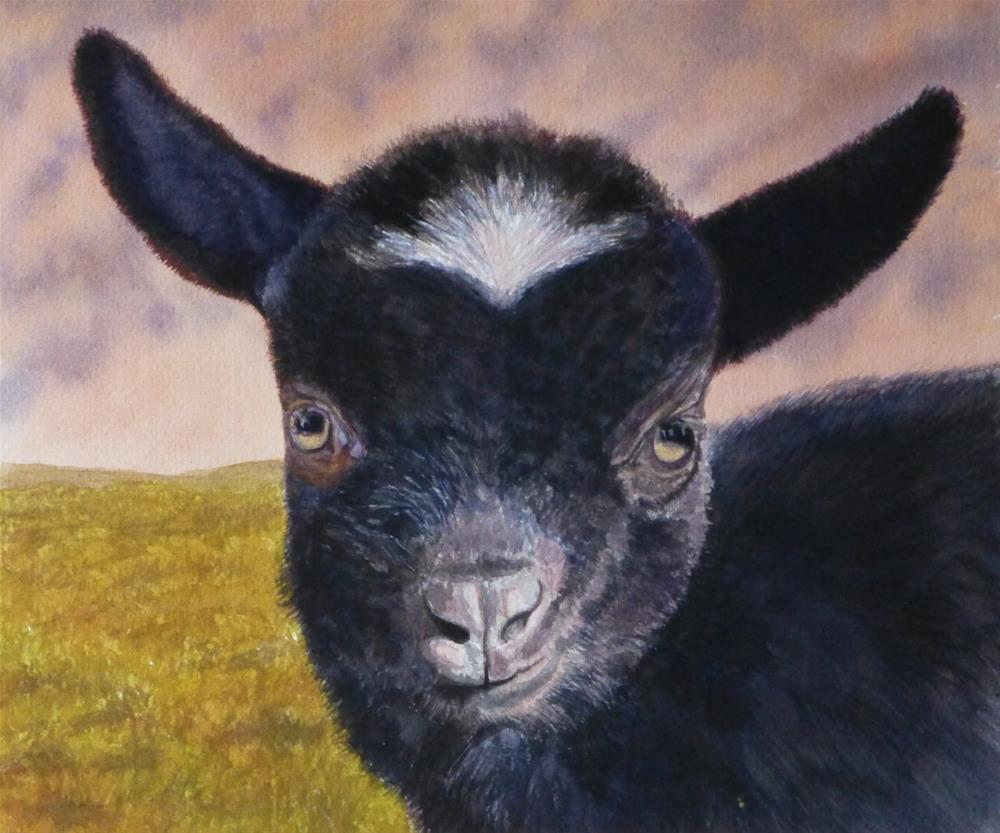 """Inquisitive"" original fine art by Peter Lentini"