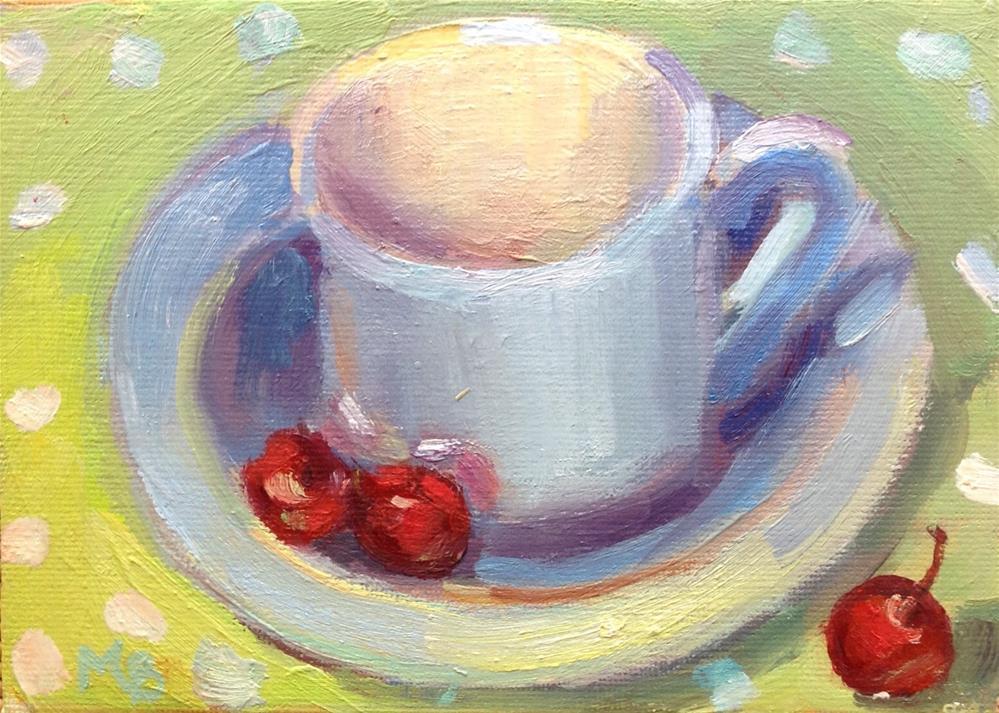 """Dotty"" original fine art by Marcia Bergtholdt"