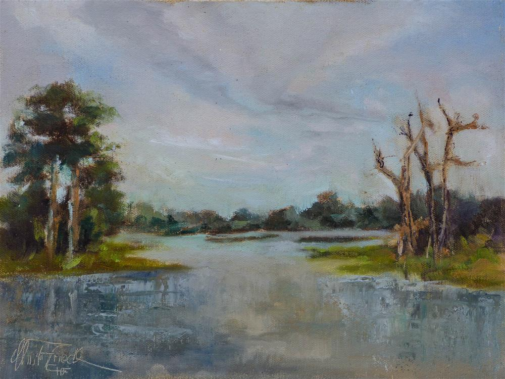 """Babcock Webb, Florida"" original fine art by Christa Friedl"
