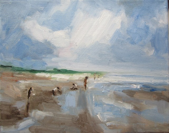 """""""Salty water"""" original fine art by Astrid Buchhammer"""