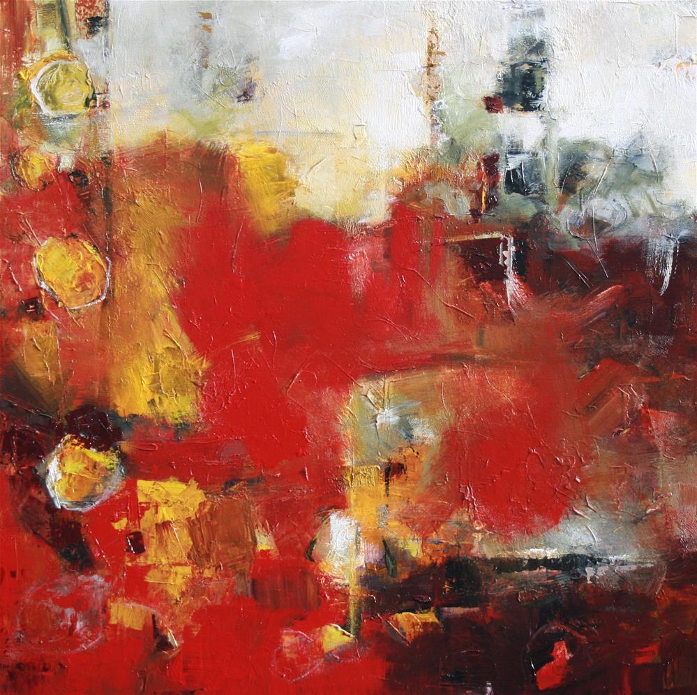 """""""Aurous"""" original fine art by Elizabeth Chapman"""