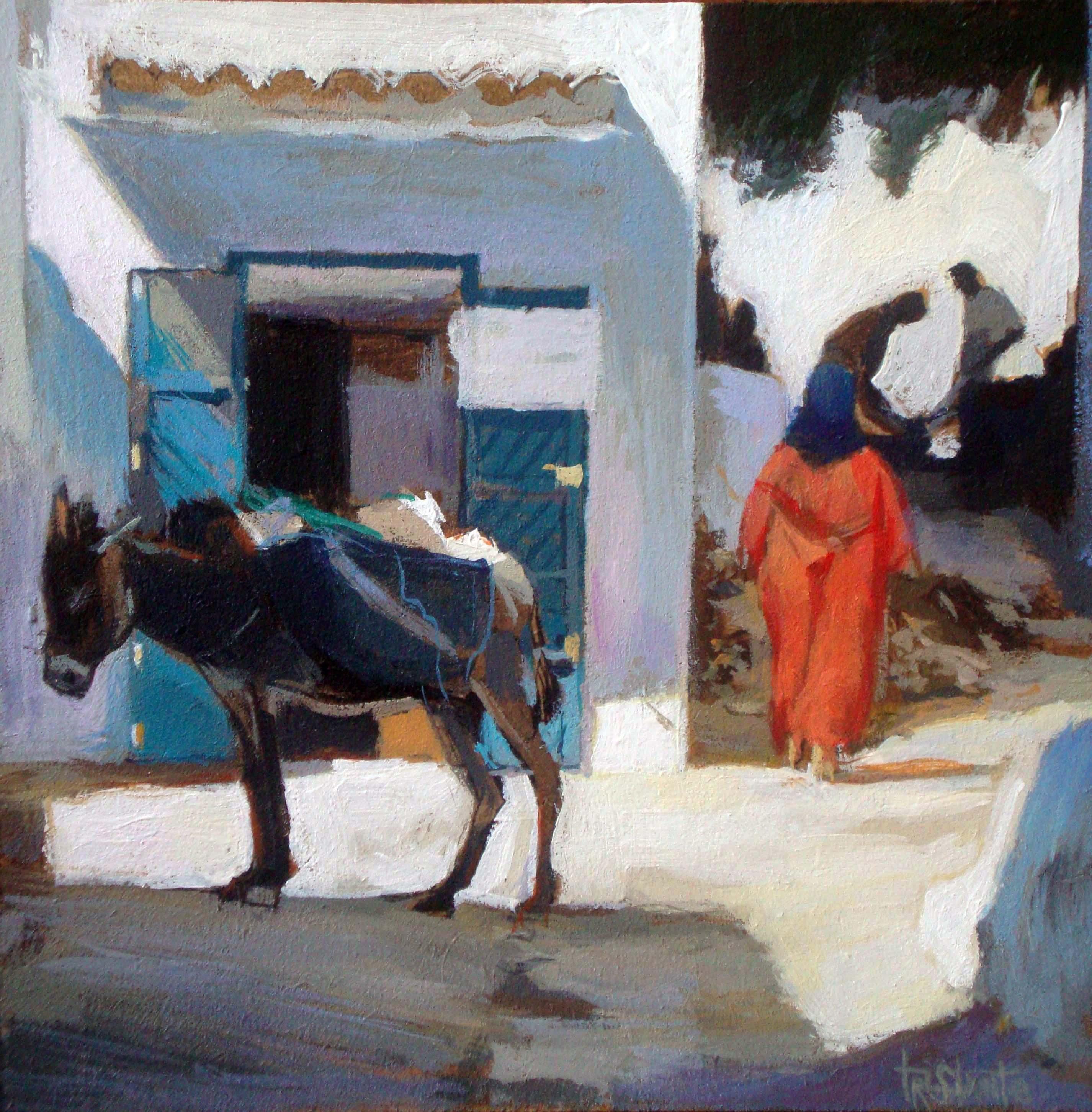 """Tetuan"" original fine art by Víctor Tristante"