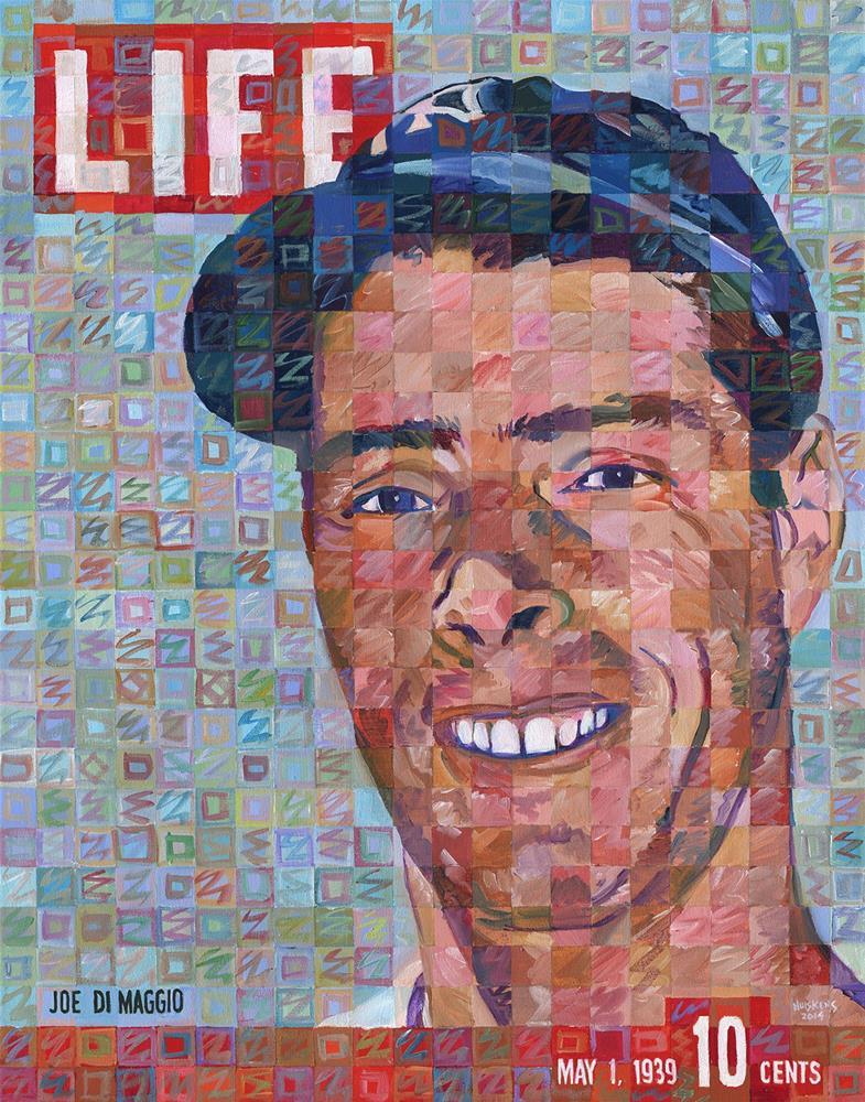 """Joe DiMaggio 1939"" original fine art by Randal Huiskens"