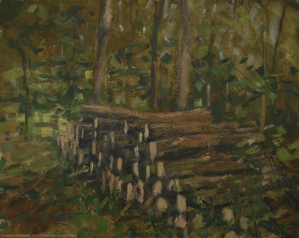 """Stacked. Doetinhem, The Netherlands."" original fine art by René PleinAir"