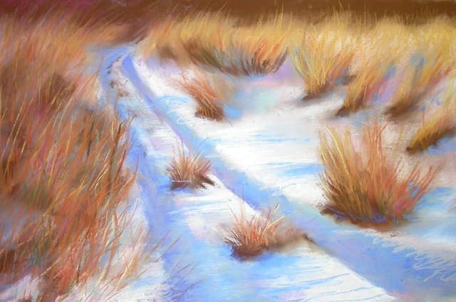 """New Paths, New Beginnings"" original fine art by Judy Albright"
