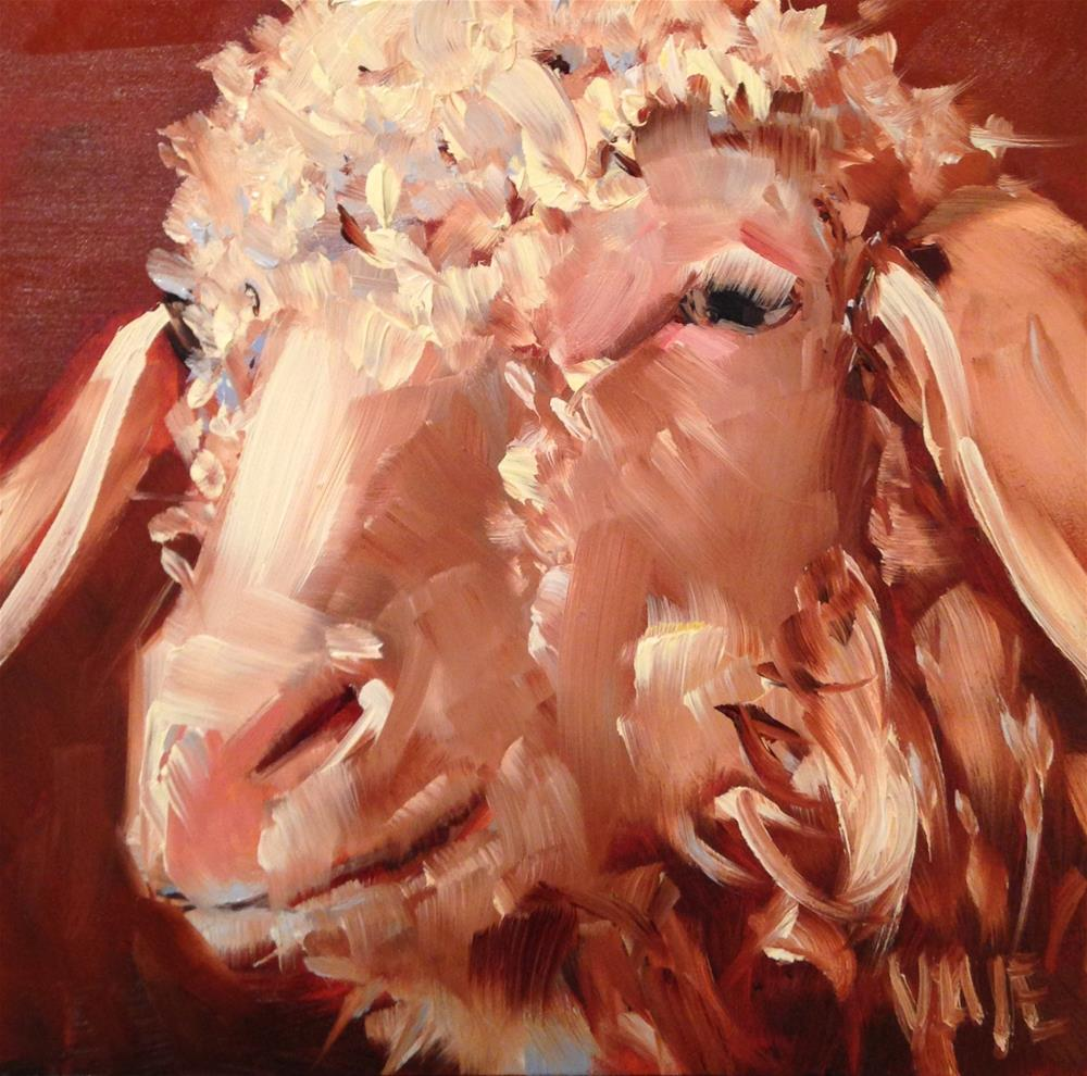 """#204 George Washington"" original fine art by Patty Voje"