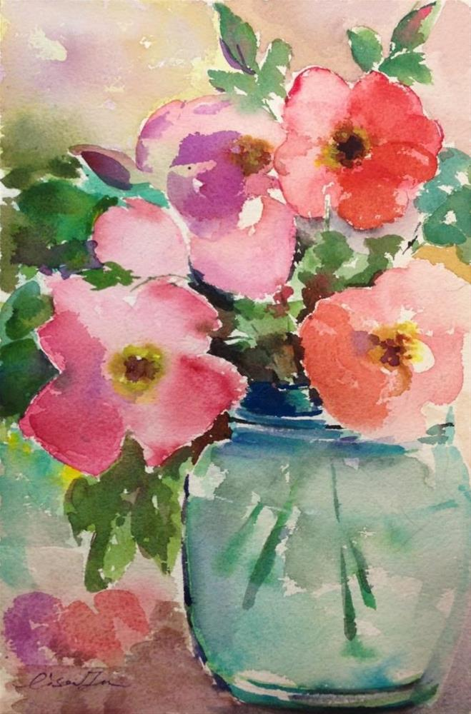 """Spring Color"" original fine art by Lisa Fu"