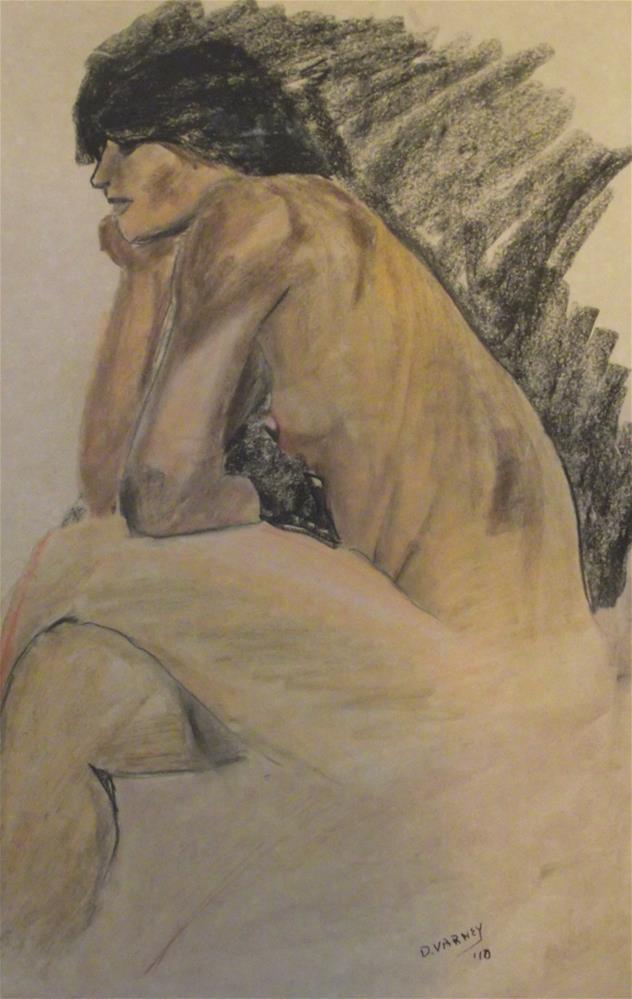 """Nude"" original fine art by Daniel Varney"