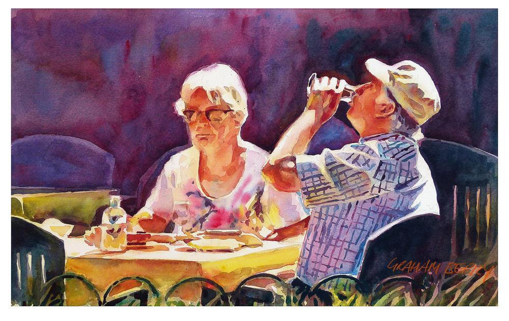 """Make that your last"" original fine art by Graham Berry"