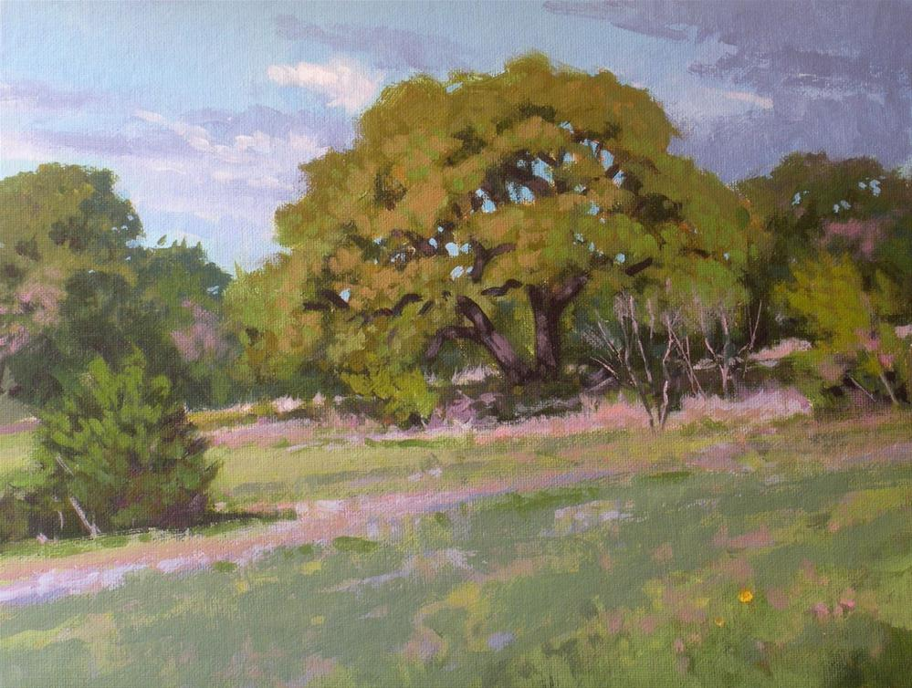 """Just North of Fredericksburg"" original fine art by David Forks"
