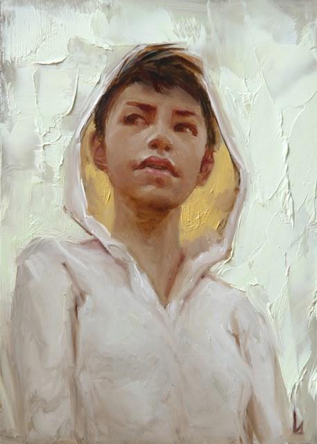 """""""Warm Glow"""" original fine art by John Larriva"""